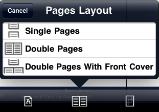 GoodReader - Pages Layout
